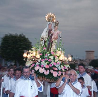 Fiestas en honor a la Virgen del Carmen 2010. (1/4)