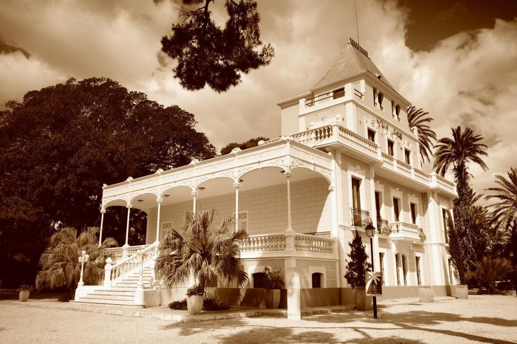 Fotografía de Villa Marco realizada por V. Martínez Hernández