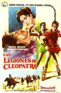 Cartel LasLegiones de Cleopatra