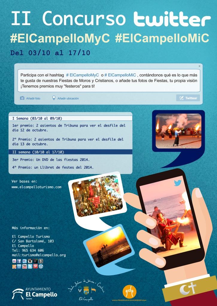 II Concurso Twitter #elcampelloMyC