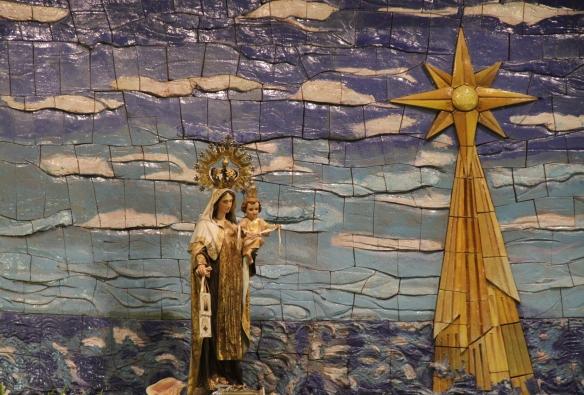 Altar ermita de la Virgen del Carmen