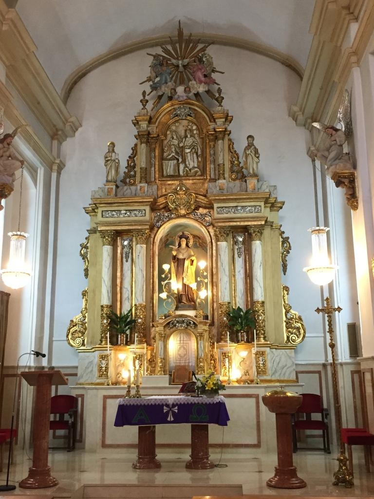 Altar_iglesia_santa_teresa_campello_Alicante