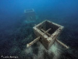 Arrecife artificial frente a la Lloma de Reixes en El Campello