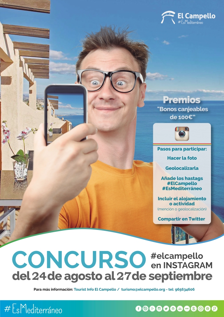 Cartel #ElCampello en Instagram 2015
