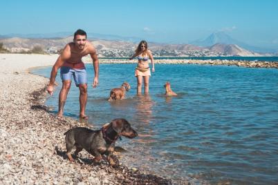 Playa Can Punta del Riu de El Campello