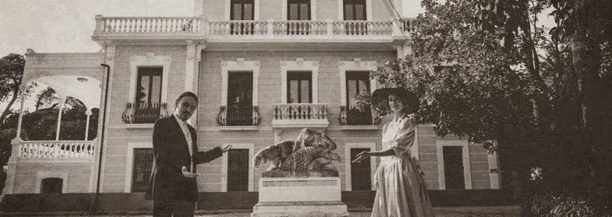 Los Secretos de los jardines de Villa Marco -El-Campello- Visita teatralizada