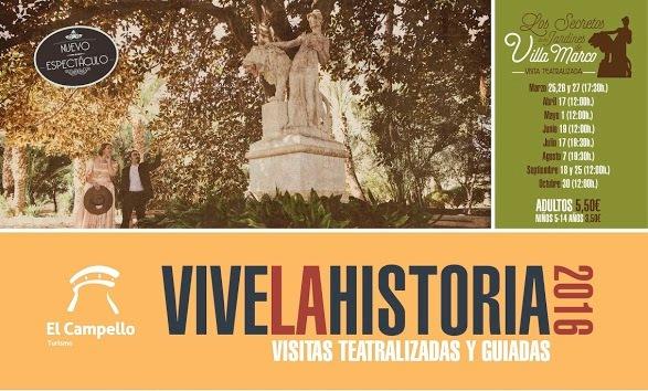 Visitas Teatralizadas Villa Marco, El Campello, 2016