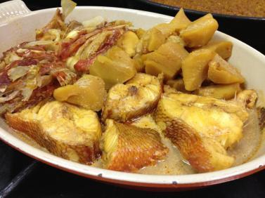 Caldero campellero Restaurante la Peña Campello