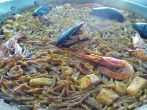 Fideuà Restaurante Seis Perlas El Campello
