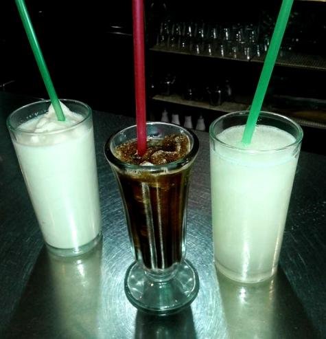 Granizado limón, horchata y café Heladería Batá El Campello