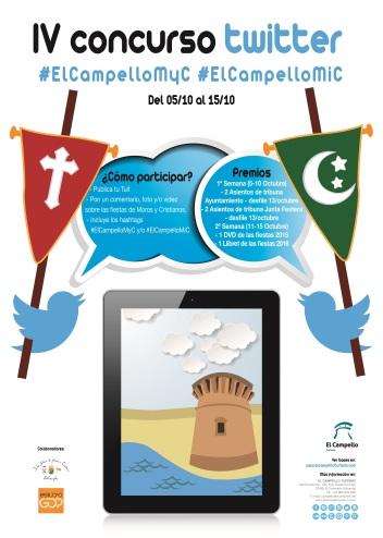 IV Concurso Twitter #ElCampelloMyC Moros y Cristianos El Campello