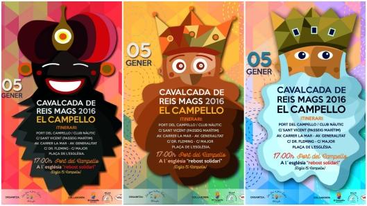 Cabalgata Reyes Magos El Campello 2016
