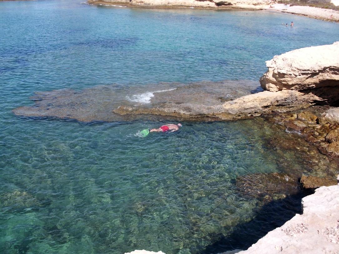 Snorkel en Els Banyets de la Reina El Campello