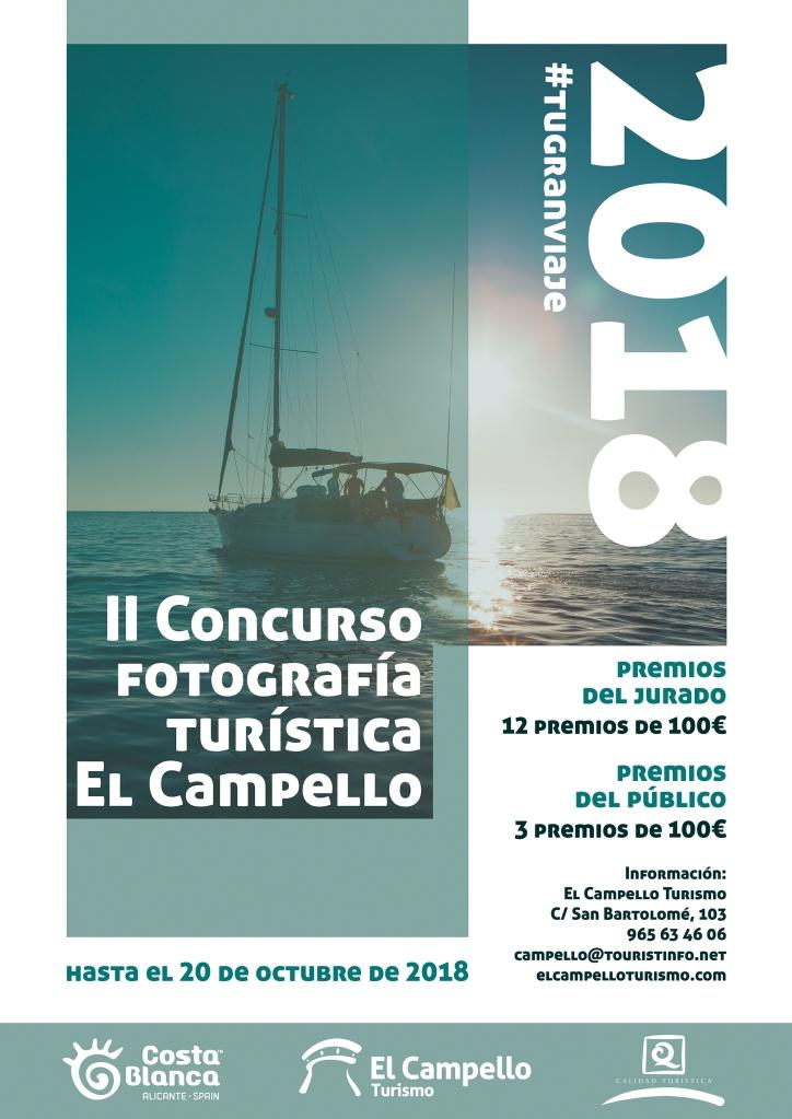 Concurso fotografía Turística El Campello #TuGRanViaje 2018