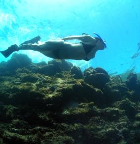 Snorkel en Cova Llop Mari