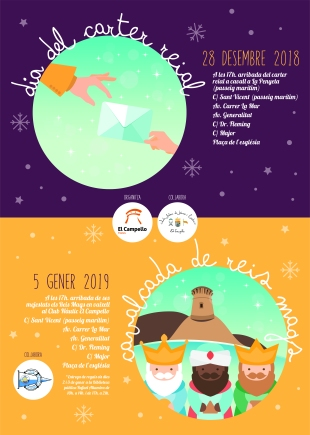 Cabalgata y Cartero 2018 El Campello