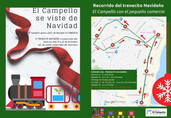 Tren Comercial Navidad 2018 El Campello