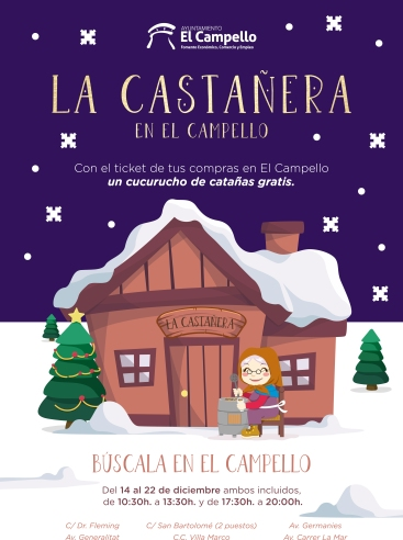 Castañera Navidad 2018 El Campello