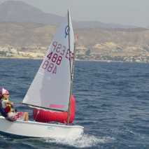 Vela optimist Club Nautico Campello
