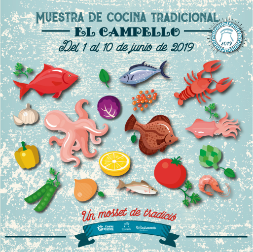 Cartel_Mostra_cuina_El_Campello_2019_Cas