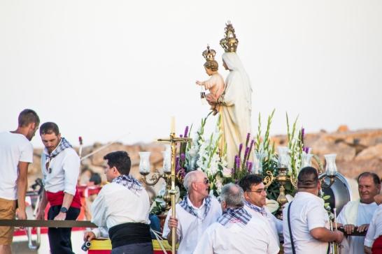 Procesión marinera de la Virgen del Carmen en El Campello - 16 de julio