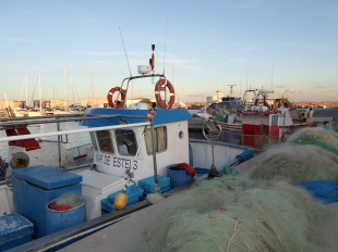 Barca artesanal de pesca - El Campello