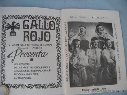 El Gallo Rojo - Programa años sesenta