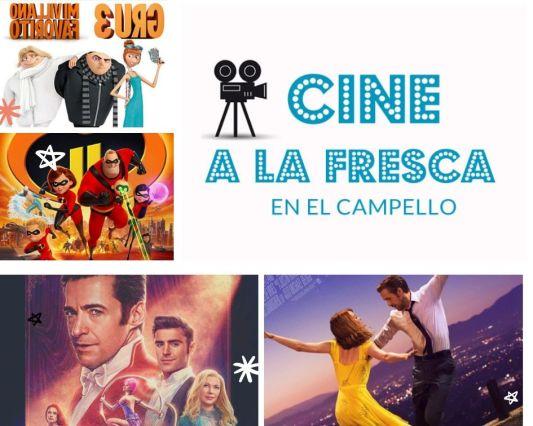 Cine a la fresca 2019 Campello
